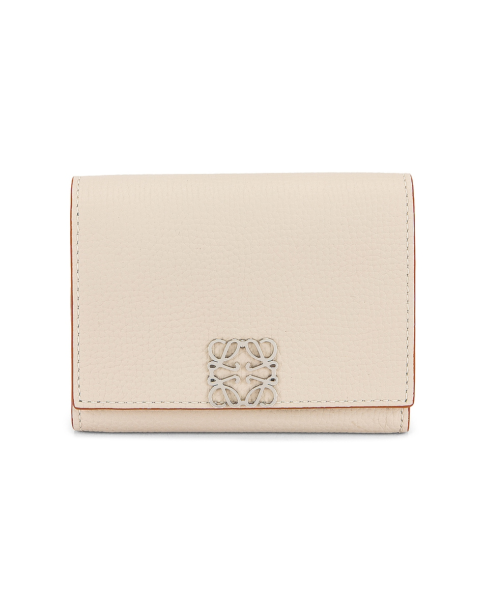 Image 1 of Loewe Anagram Coin Cardholder in Light Ghost