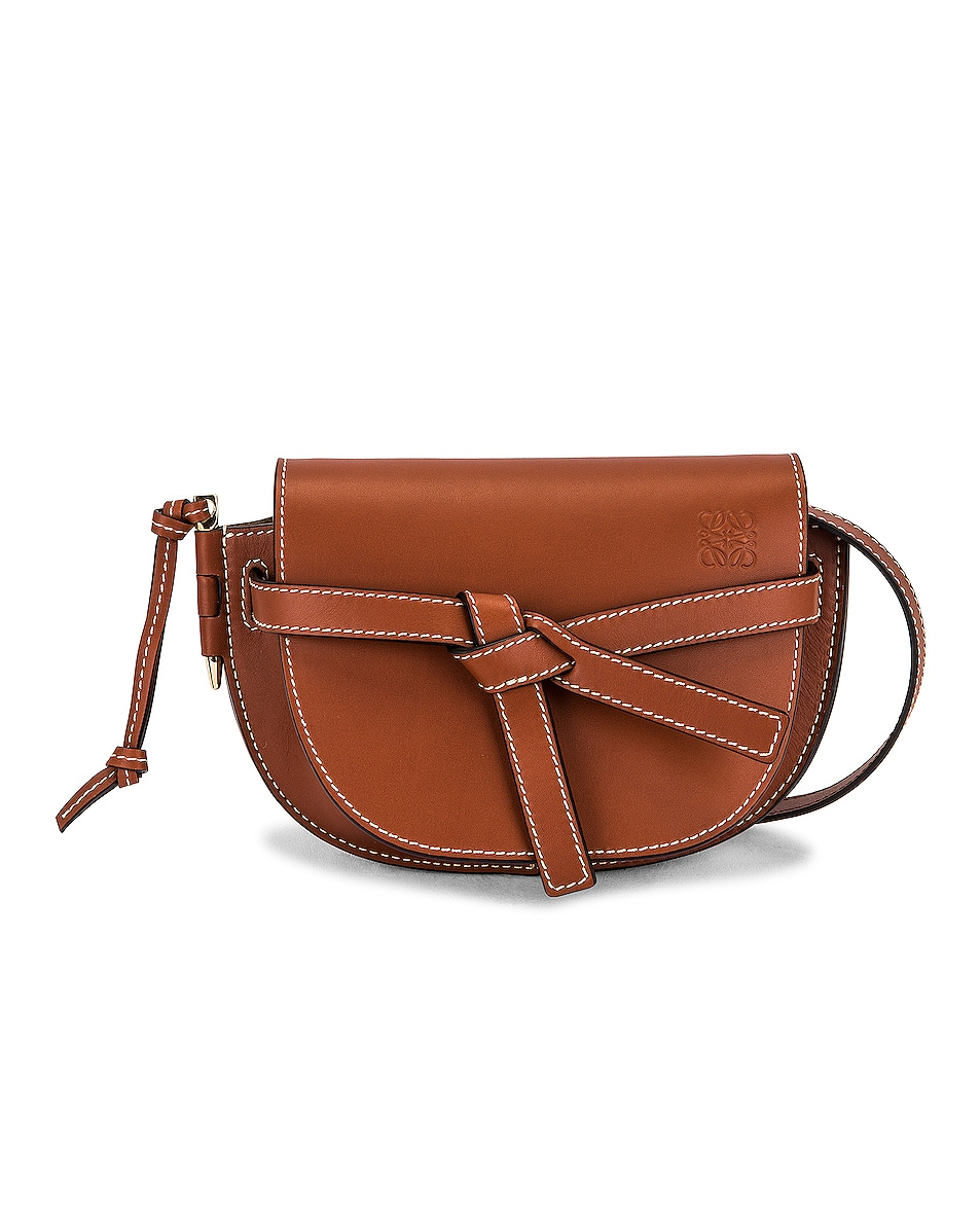 Image 1 of Loewe Gate Dual Mini Bag in Rust