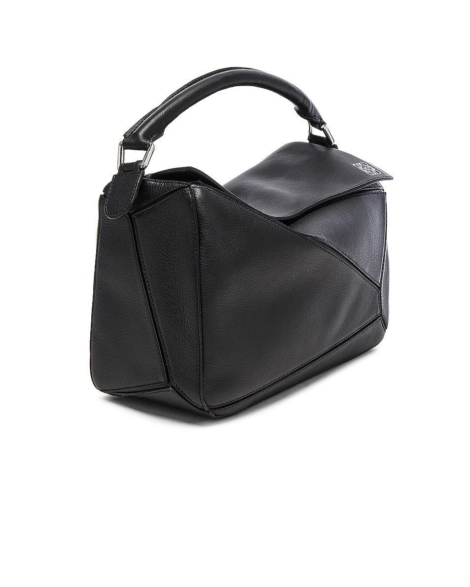 Image 4 of Loewe Puzzle Bag in Black
