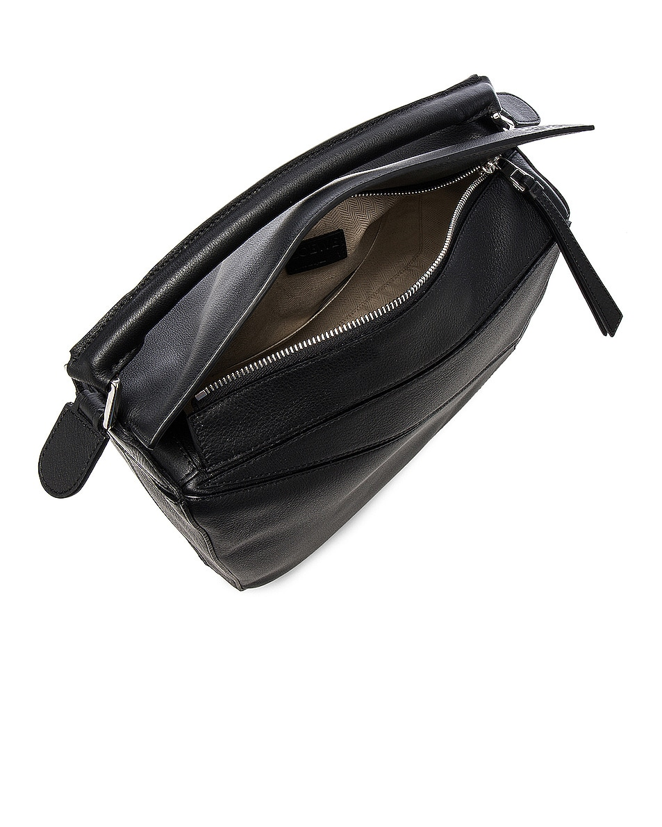 Image 5 of Loewe Puzzle Bag in Black