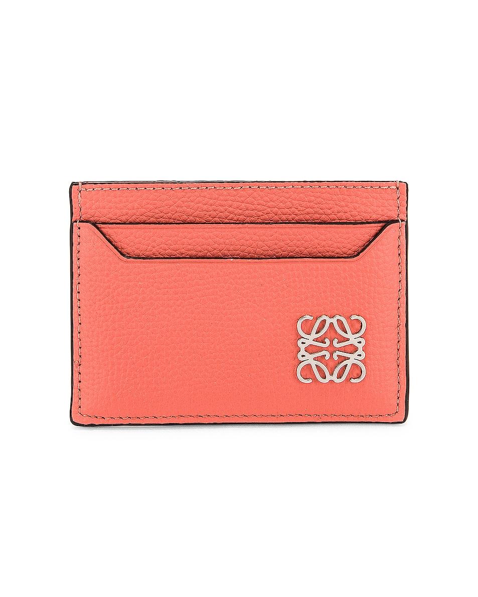 Image 1 of Loewe Anagram Cardholder in Pink Tulip