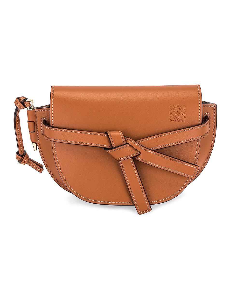 Image 1 of Loewe Gate Dual Mini Bag in Tan