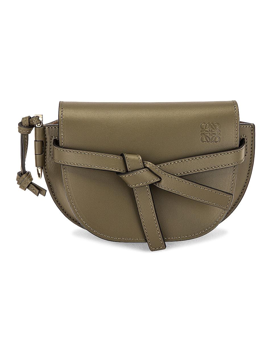 Image 1 of Loewe Gate Dual Mini Bag in Autumn Green