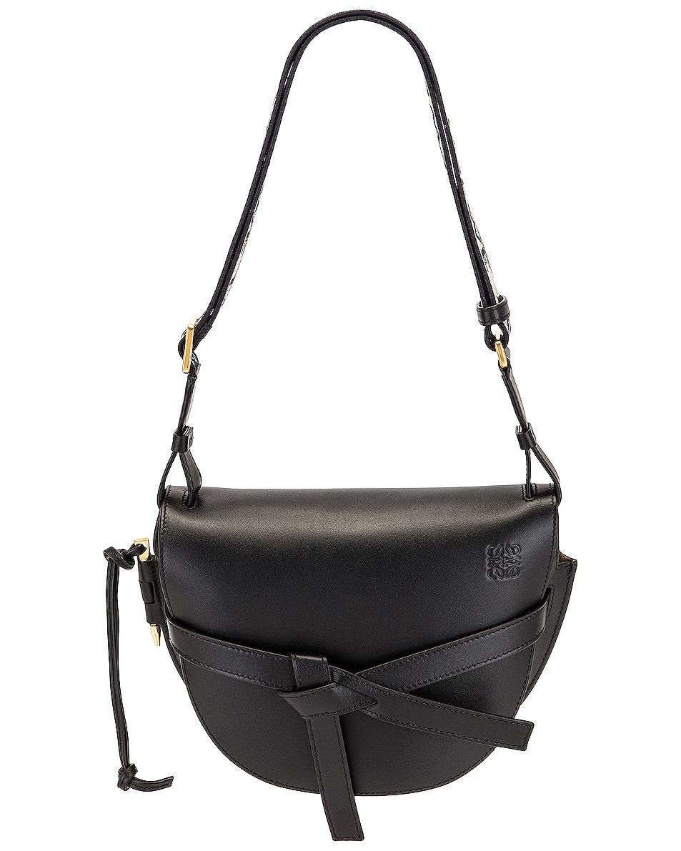 Image 1 of Loewe Gate Small Bag in Black
