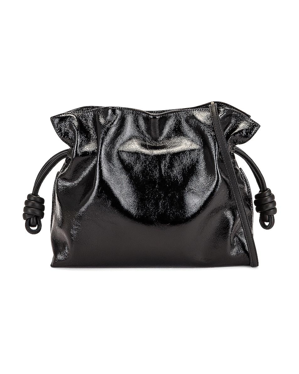 Image 1 of Loewe Flamenco Clutch in Black