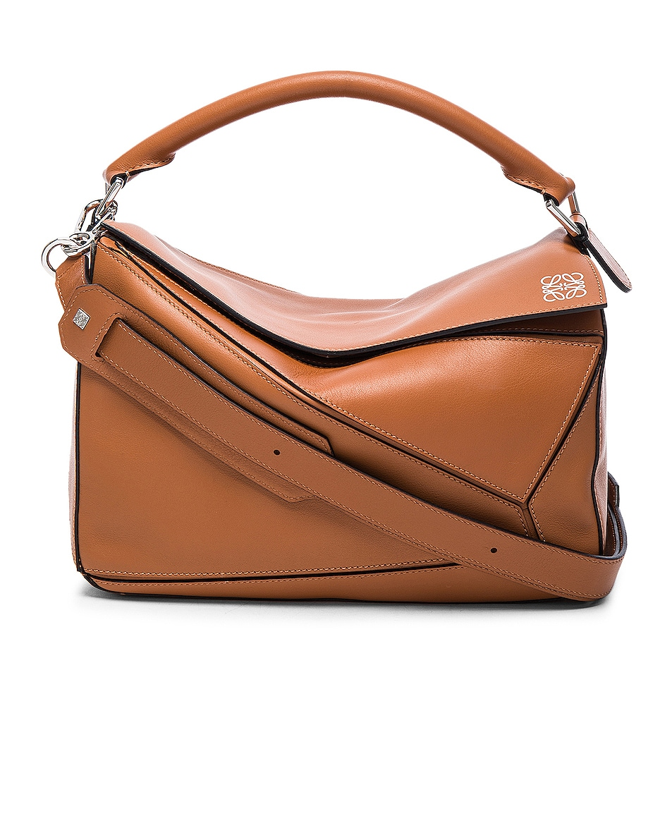 Image 1 of Loewe Puzzle Bag in Tan