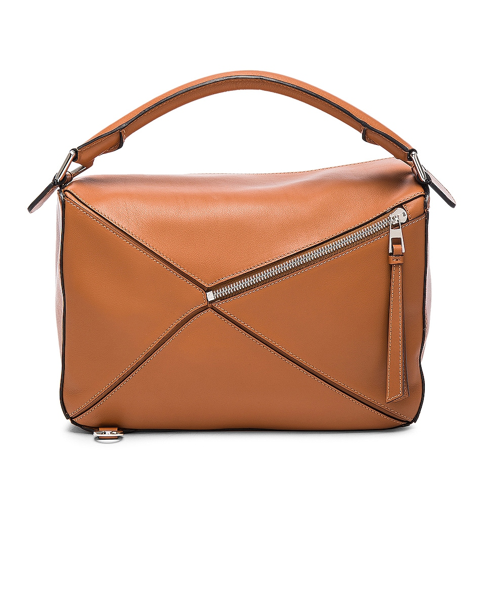 Image 3 of Loewe Puzzle Bag in Tan