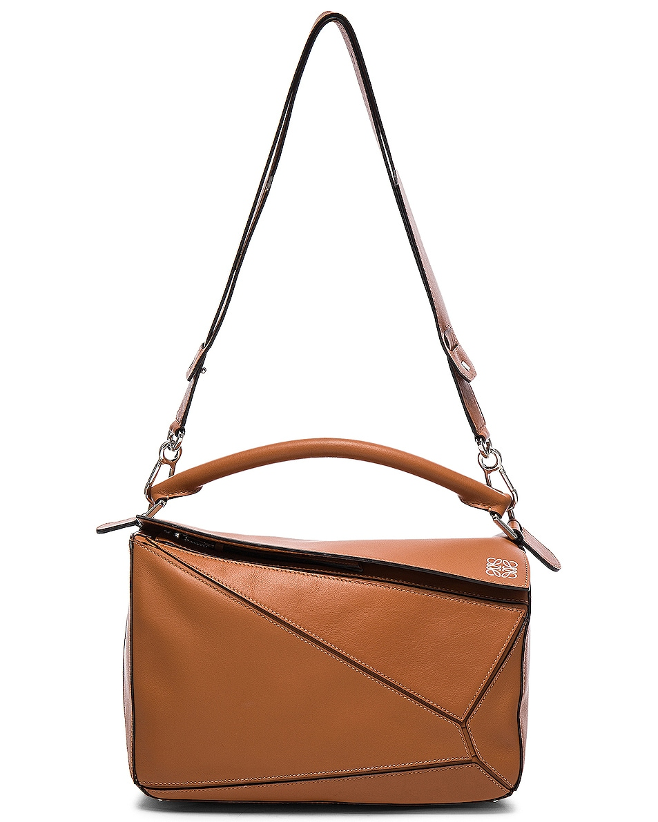 Image 6 of Loewe Puzzle Bag in Tan