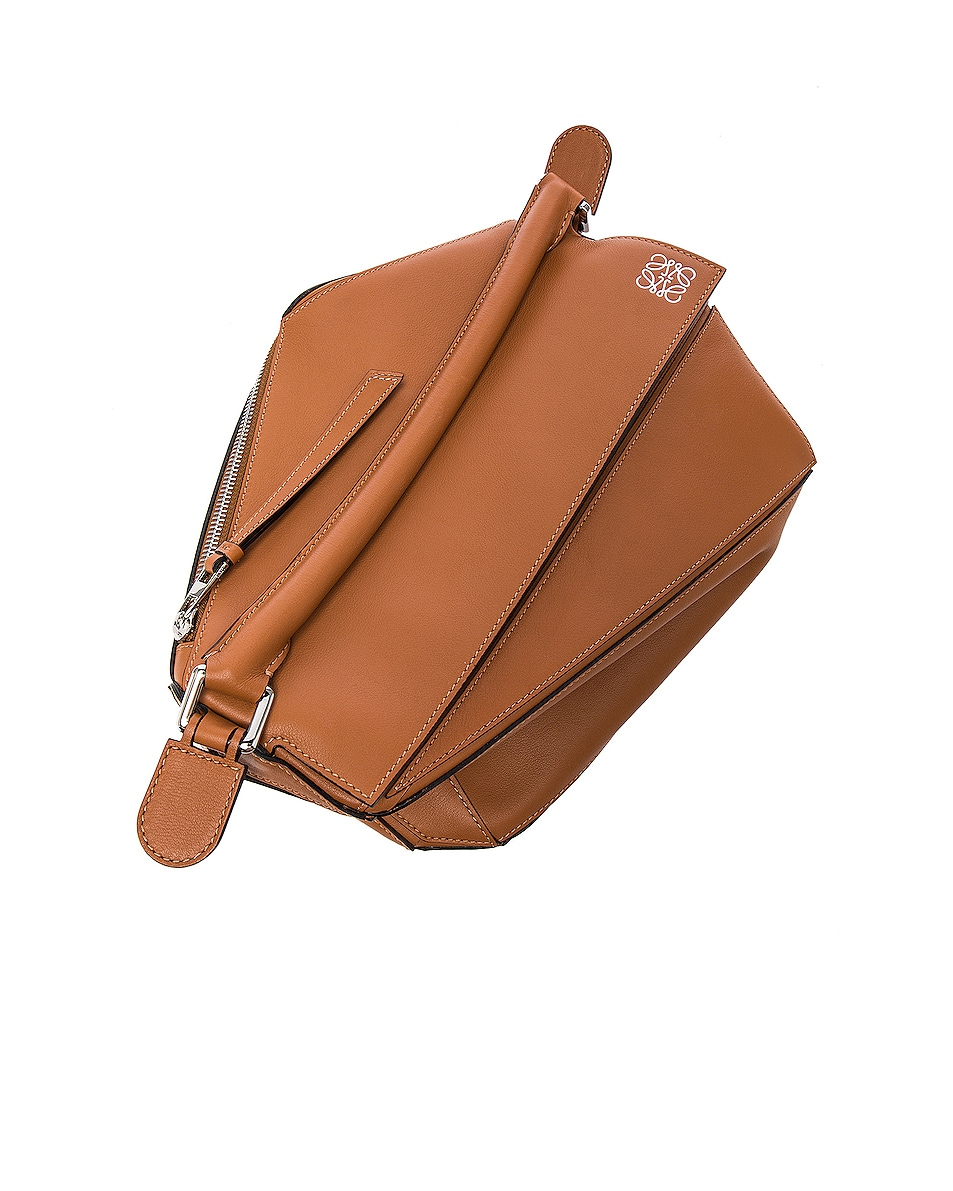 Image 7 of Loewe Puzzle Bag in Tan
