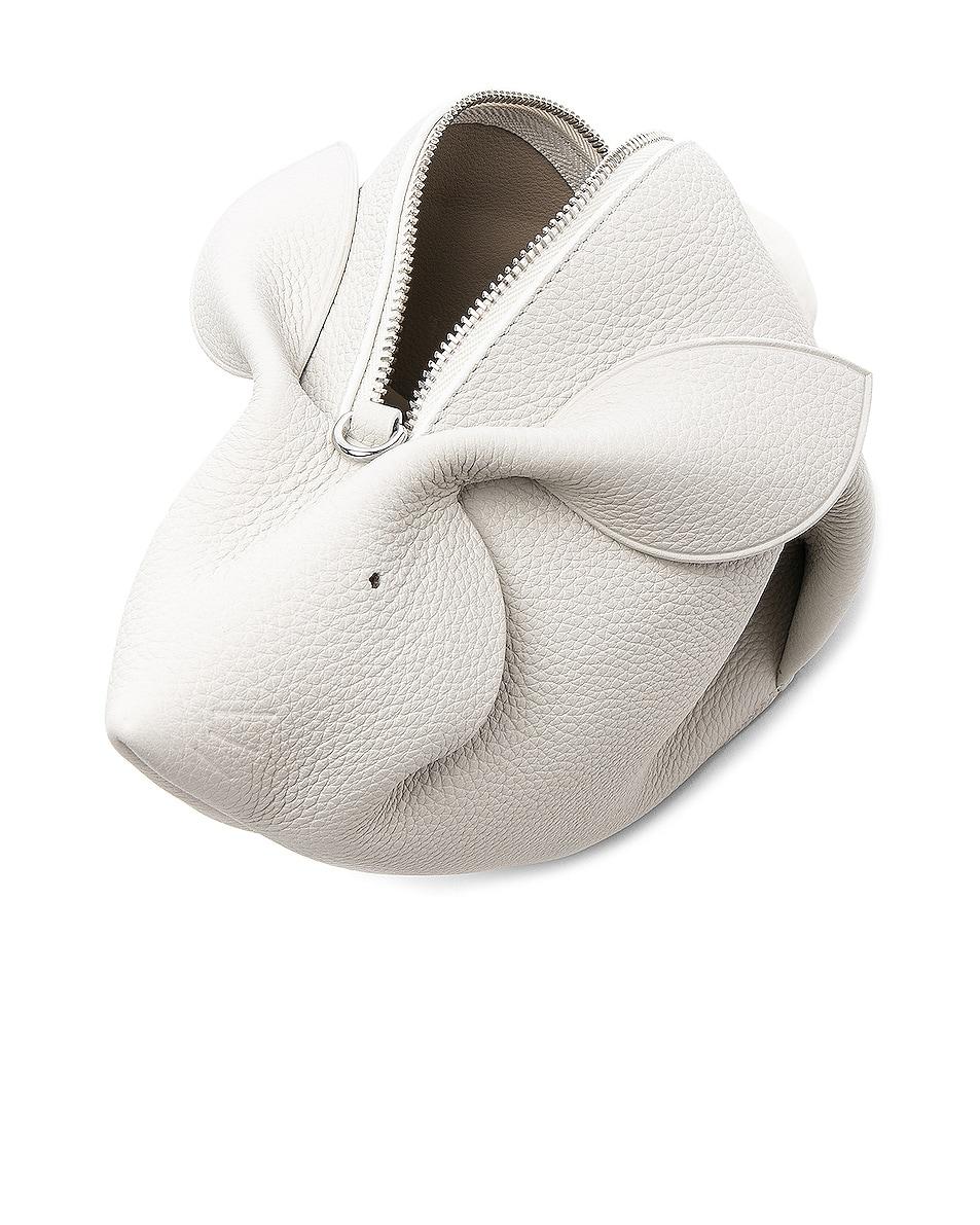 Image 5 of Loewe Mini Bunny Bag in White