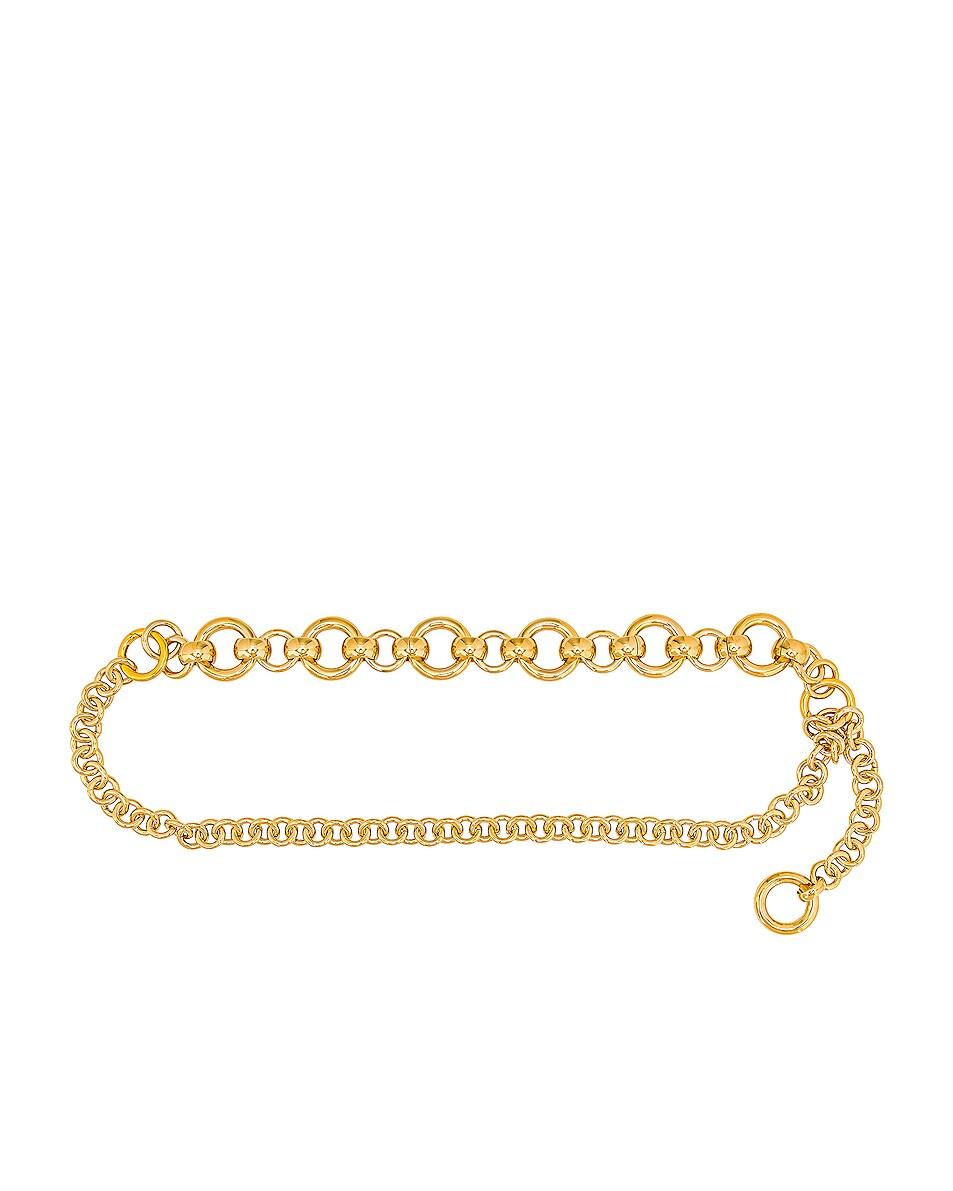 Image 1 of LAURA LOMBARDI Amara Belt in Gold