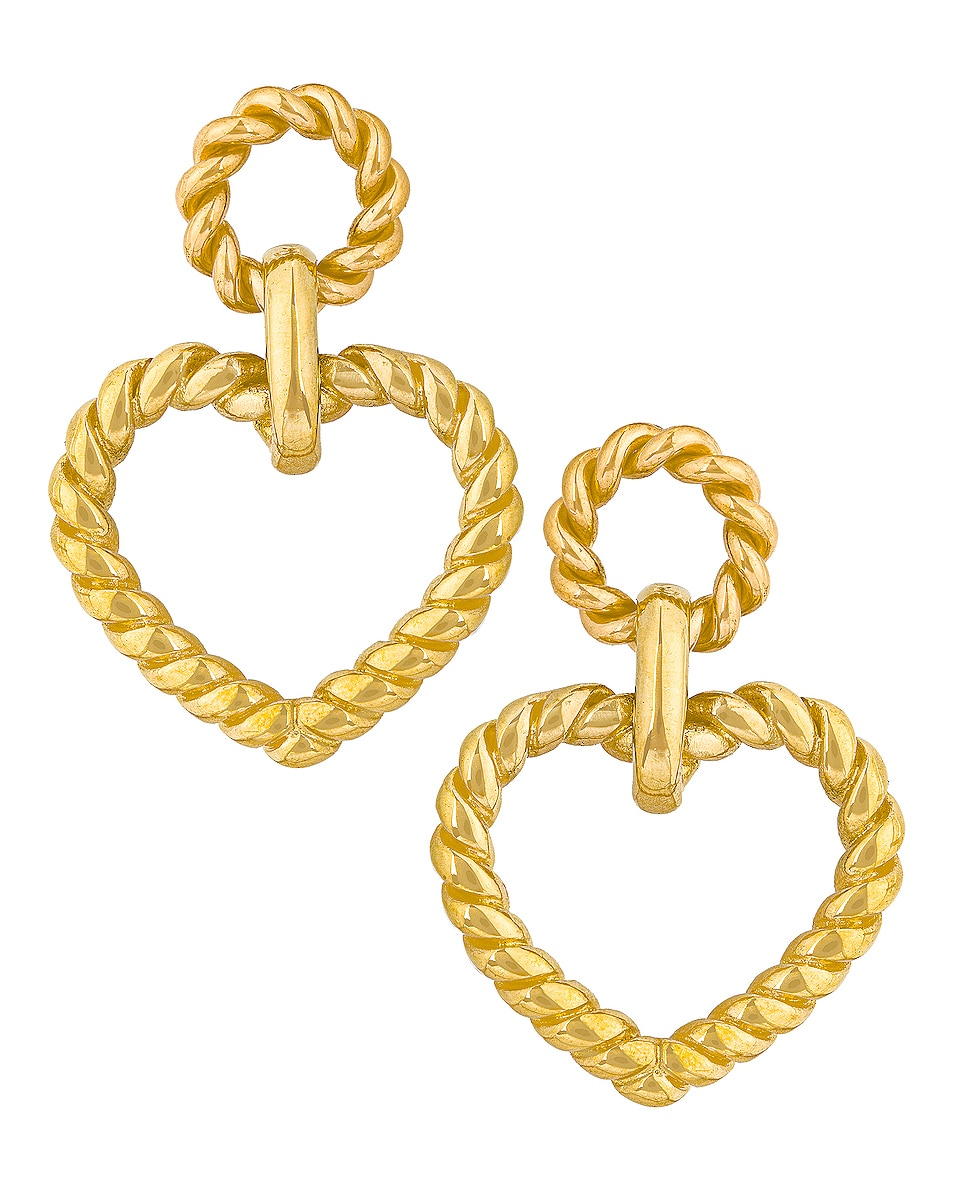 Image 1 of LAURA LOMBARDI Bambola Earrings in Gold