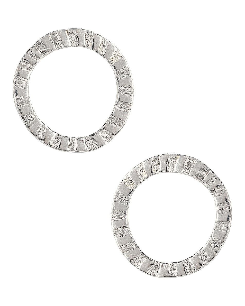 Image 1 of Lucy Folk Cairo Earrings in Sterling Silver