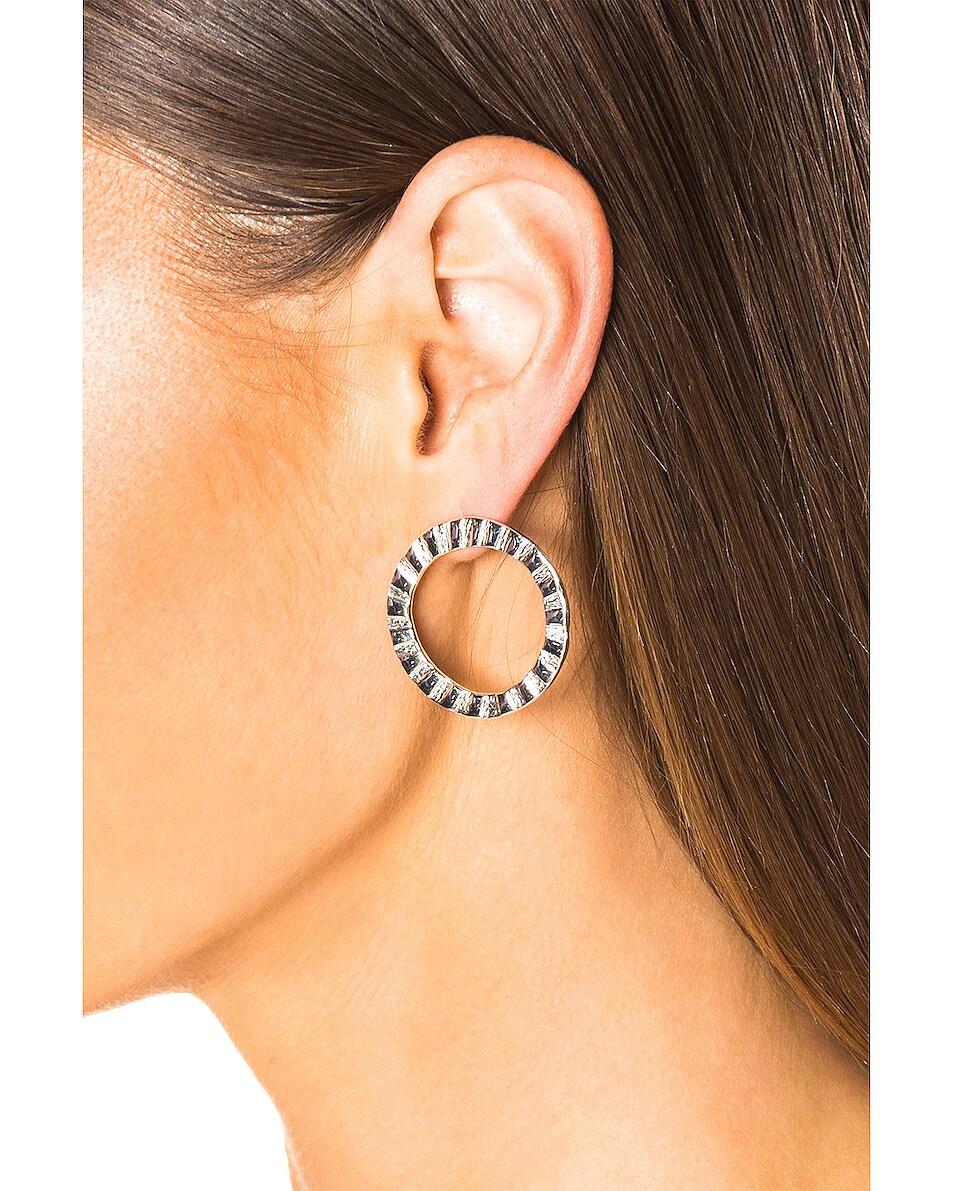 Image 4 of Lucy Folk Cairo Earrings in Sterling Silver