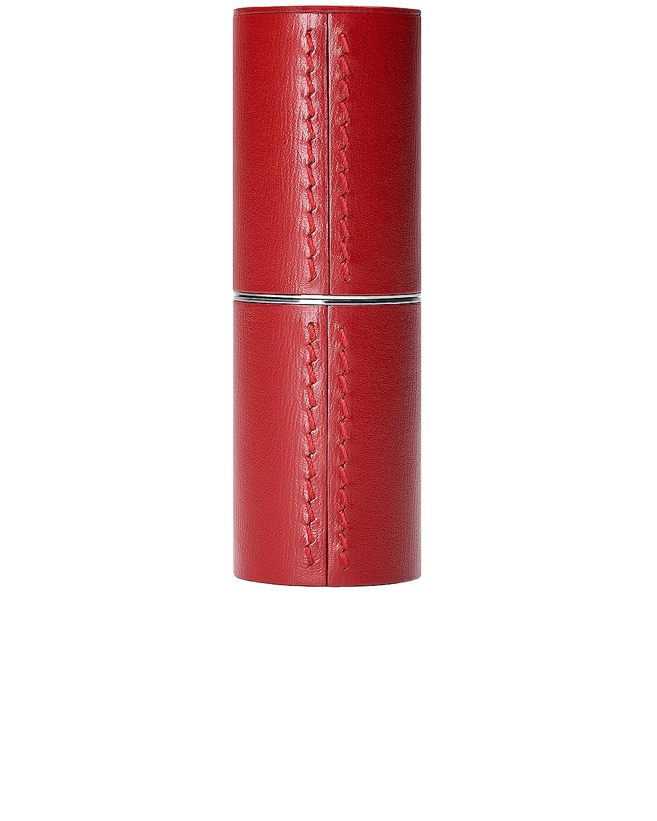 Image 1 of La Bouche Rouge Refillable Leather Case in Red