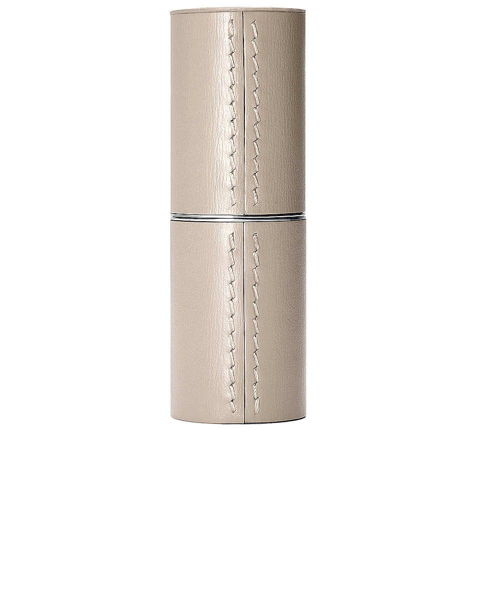 Image 1 of La Bouche Rouge Refillable Leather Case in Beige