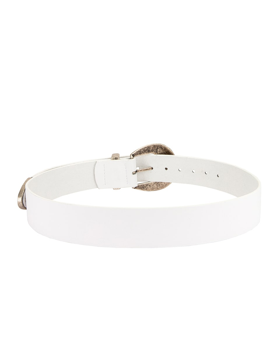 Image 3 of Magda Butrym Clint Belt in White