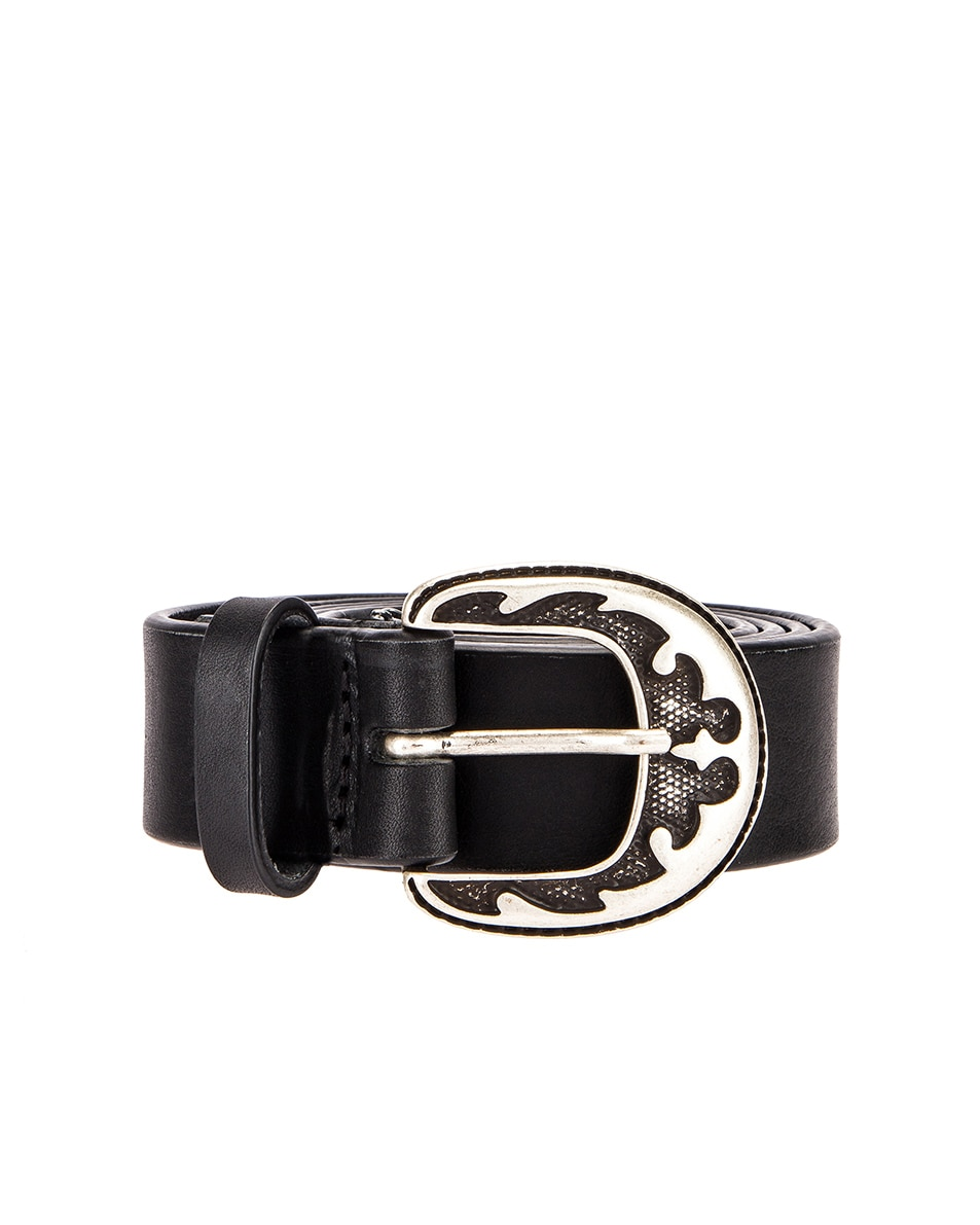 Image 1 of Magda Butrym Harry Belt in Black