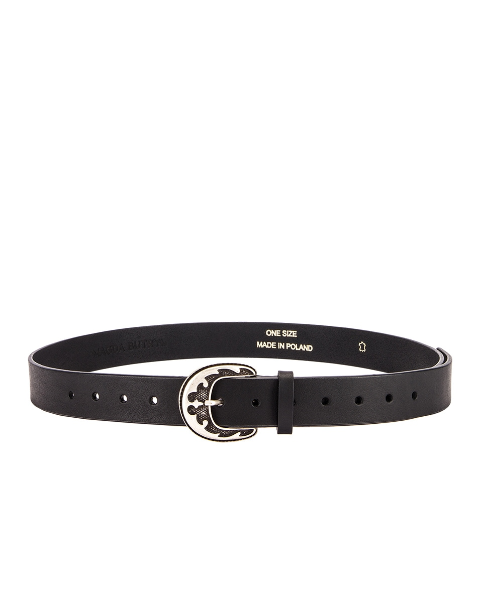 Image 2 of Magda Butrym Harry Belt in Black