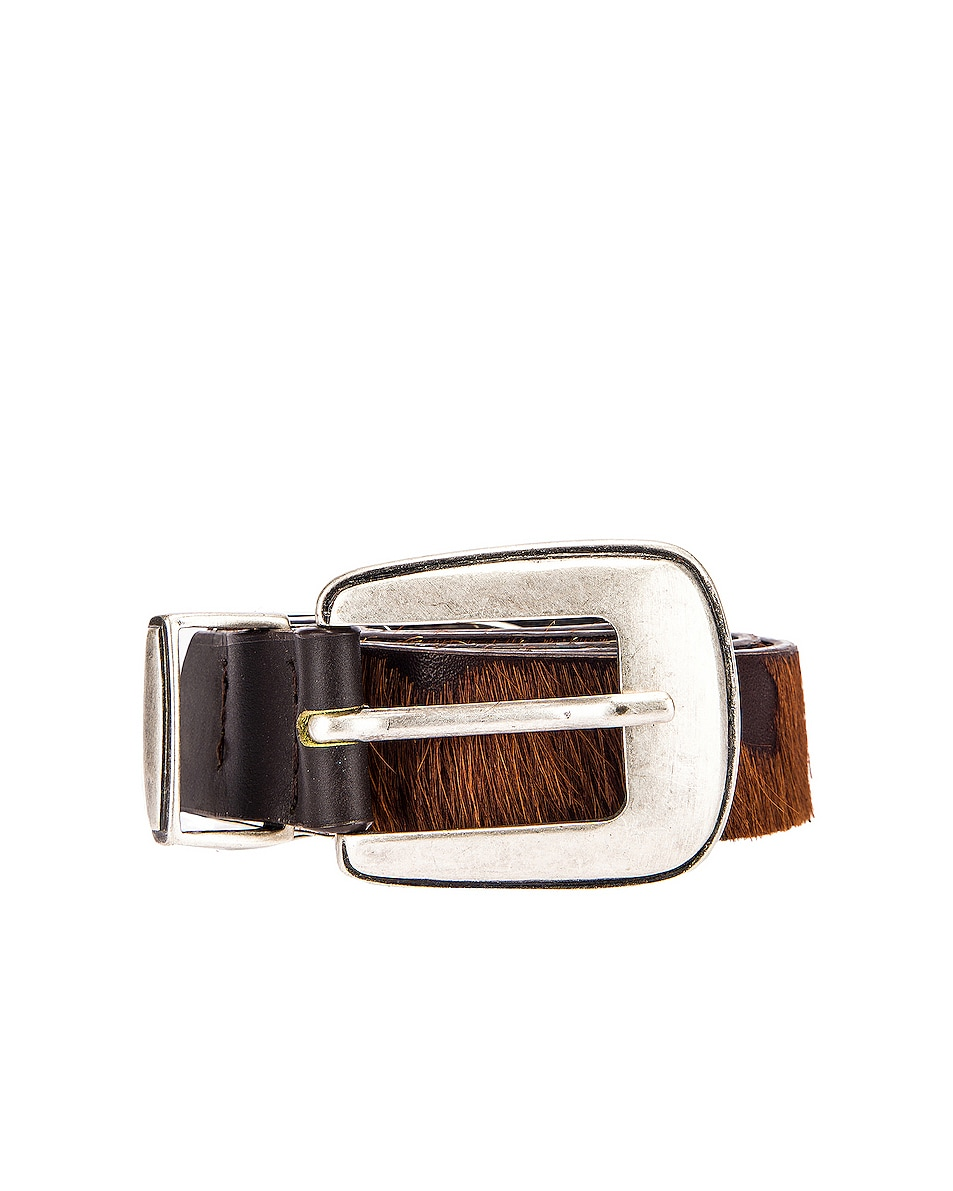 Image 1 of Magda Butrym Perch Belt in Brown