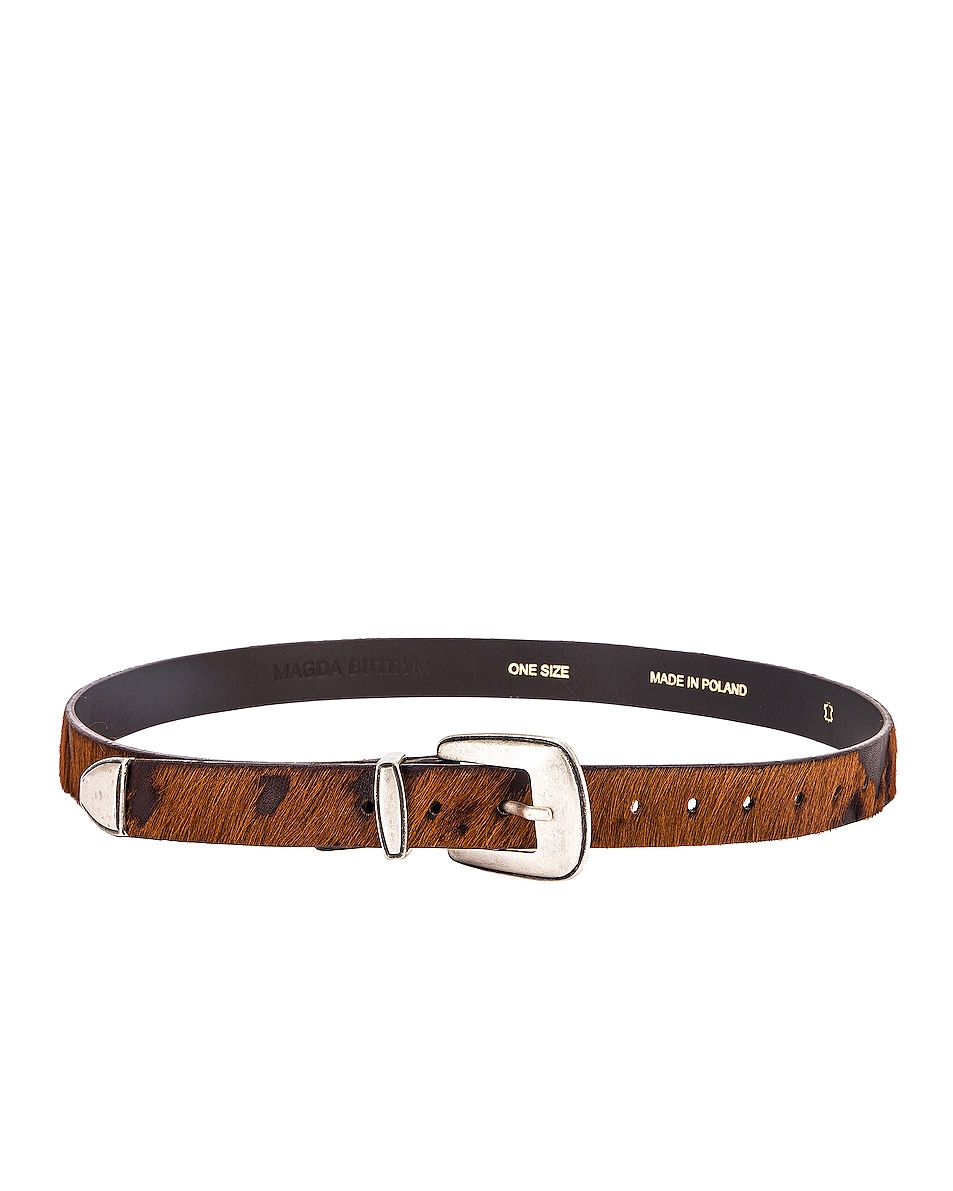 Image 2 of Magda Butrym Perch Belt in Brown