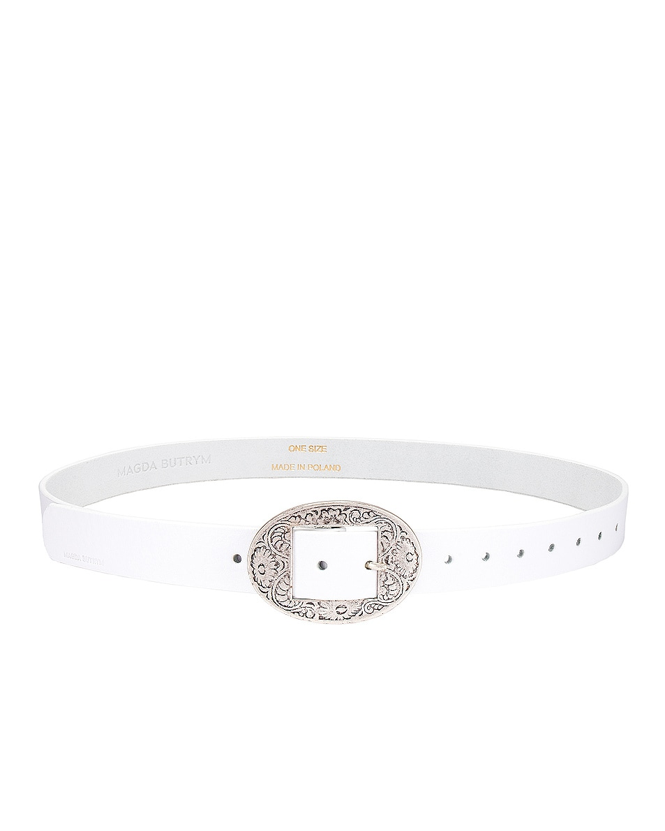 Image 2 of Magda Butrym Sole Belt in White