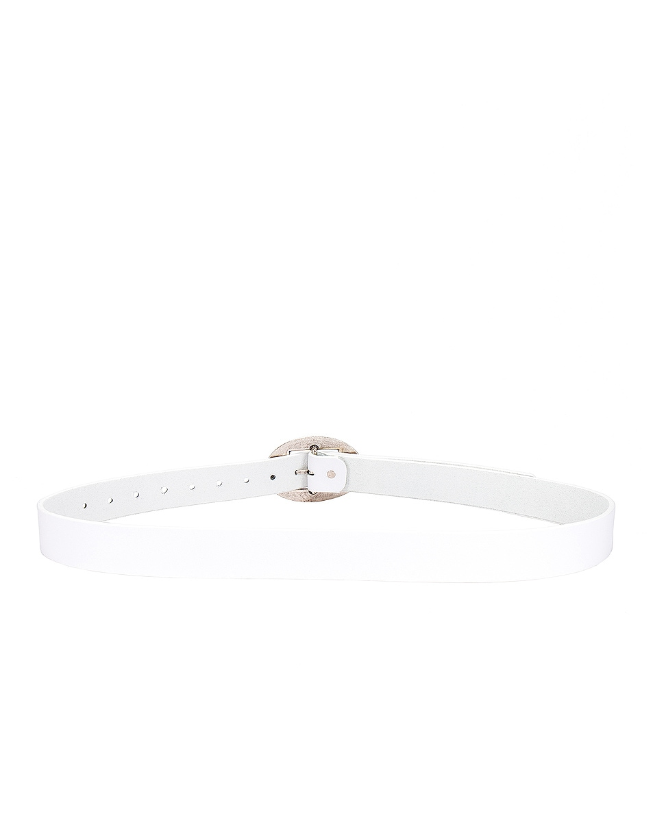 Image 3 of Magda Butrym Sole Belt in White