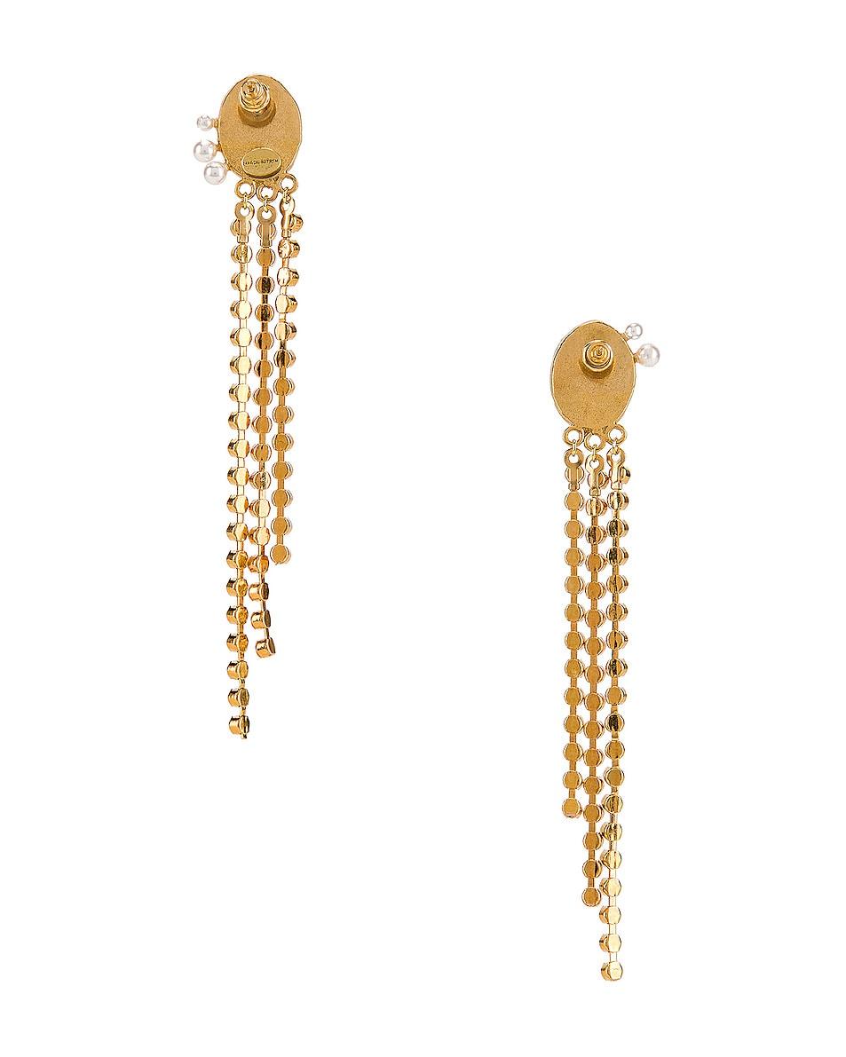 Image 4 of Magda Butrym Kiwi Earrings in Green