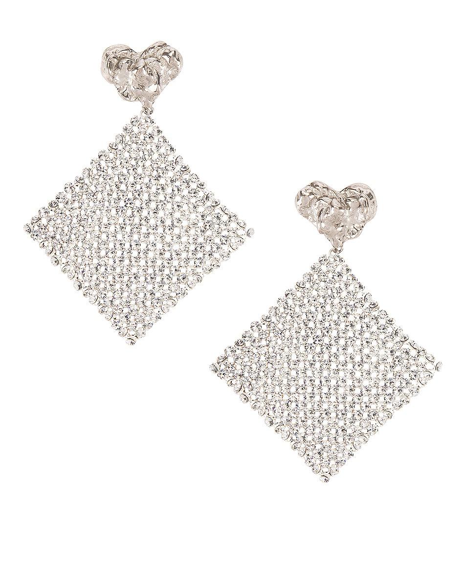 Image 1 of Magda Butrym Lovage Earrings in Silver