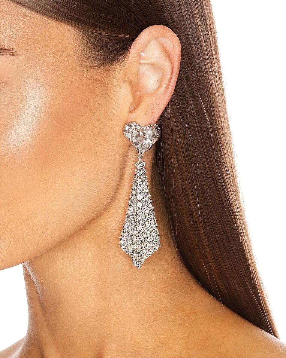 Image 2 of Magda Butrym Lovage Earrings in Silver