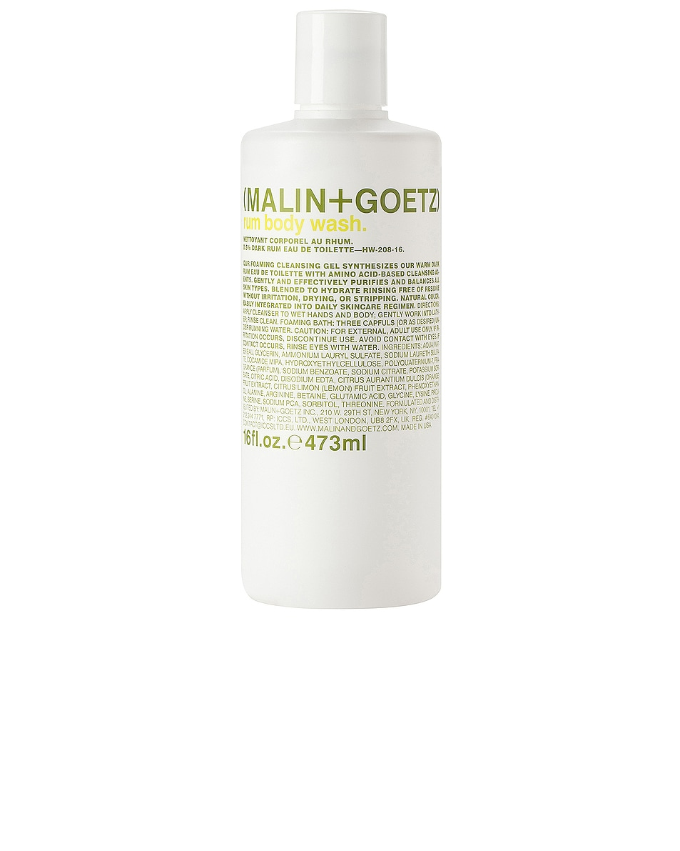 Image 1 of MALIN+GOETZ Rum Hand + Body Wash in