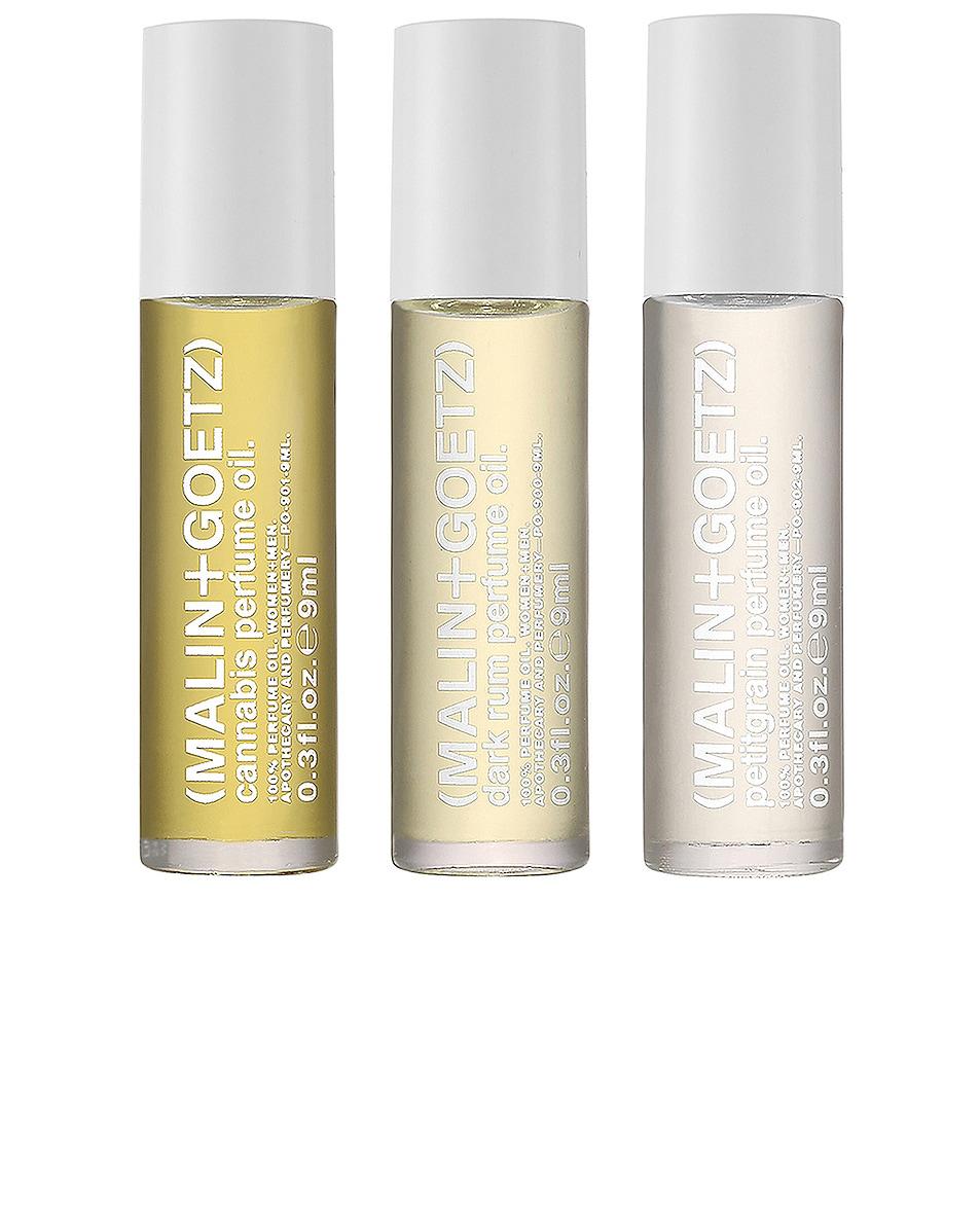 Image 1 of MALIN+GOETZ Perfume Oil Set in