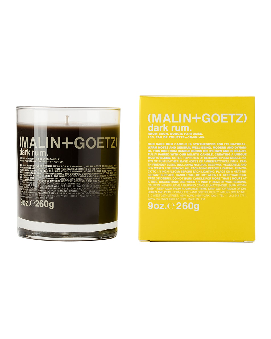 Image 1 of MALIN+GOETZ Dark Rum Candle in