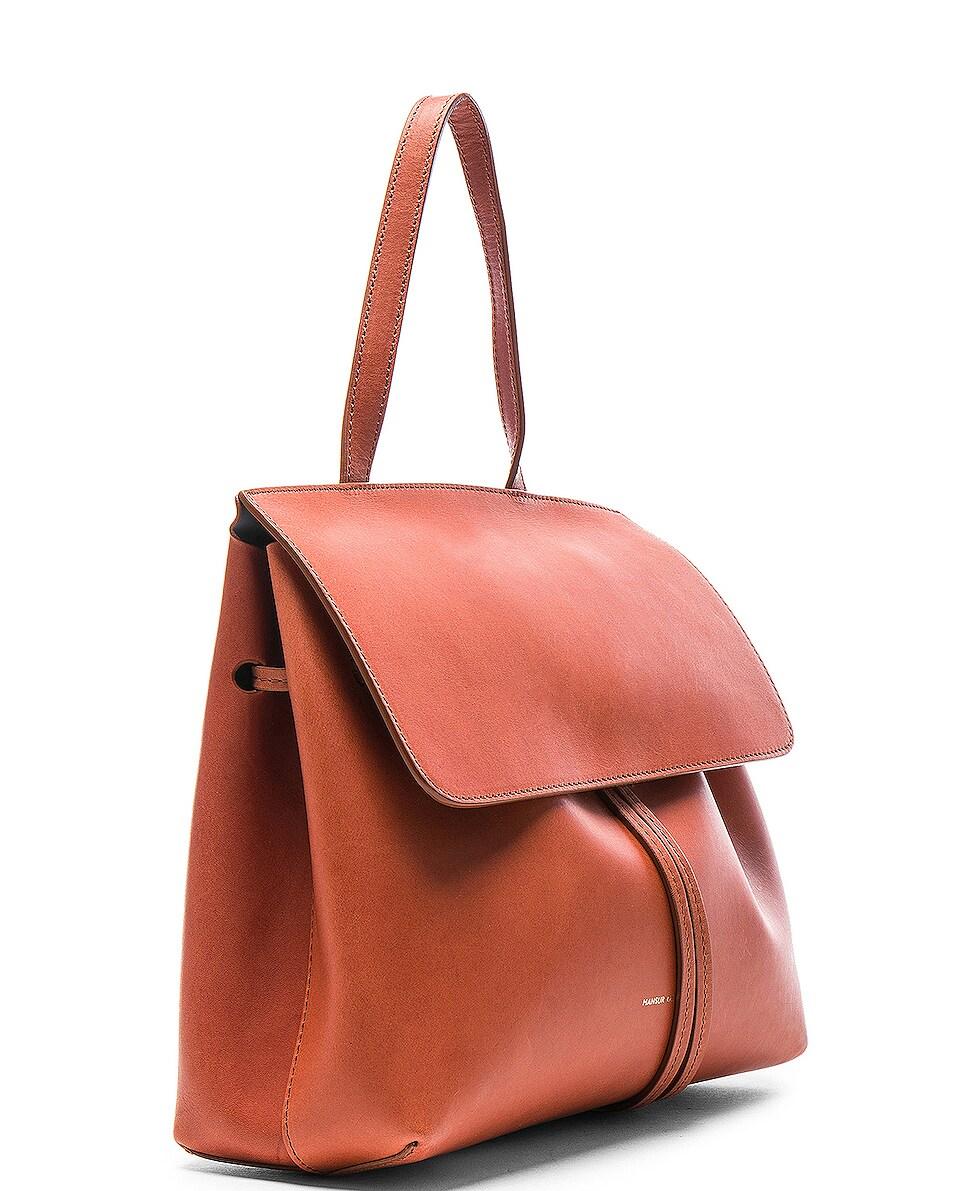 Image 4 of Mansur Gavriel Mini Lady Bag in Brandy Avion