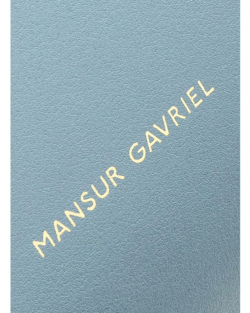 Image 7 of Mansur Gavriel Bucket Bag in Grey Blue
