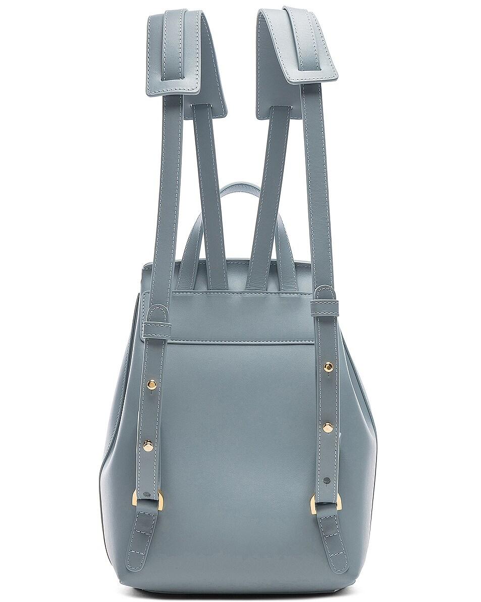 Image 3 of Mansur Gavriel Mini Backpack in Grey Blue