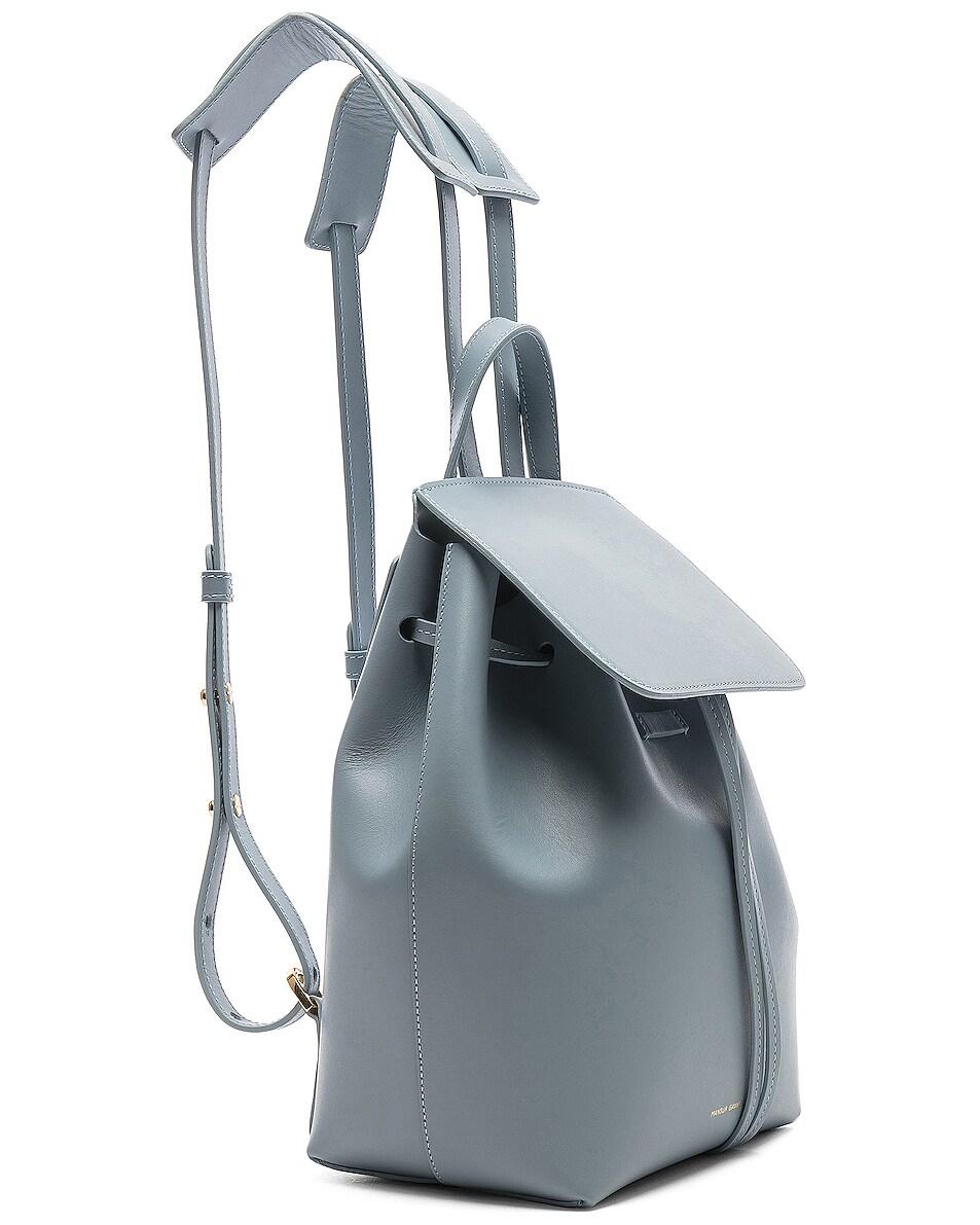 Image 4 of Mansur Gavriel Mini Backpack in Grey Blue