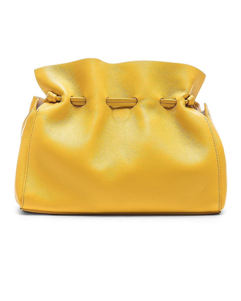 Image 3 of Mansur Gavriel Mini Protea Bag in Sun & Rosa