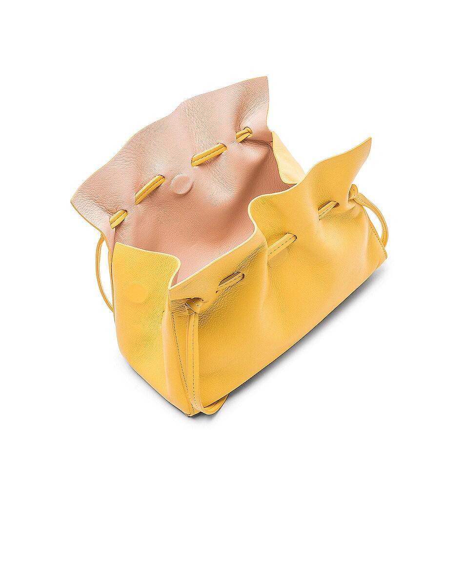 Image 5 of Mansur Gavriel Mini Protea Bag in Sun & Rosa