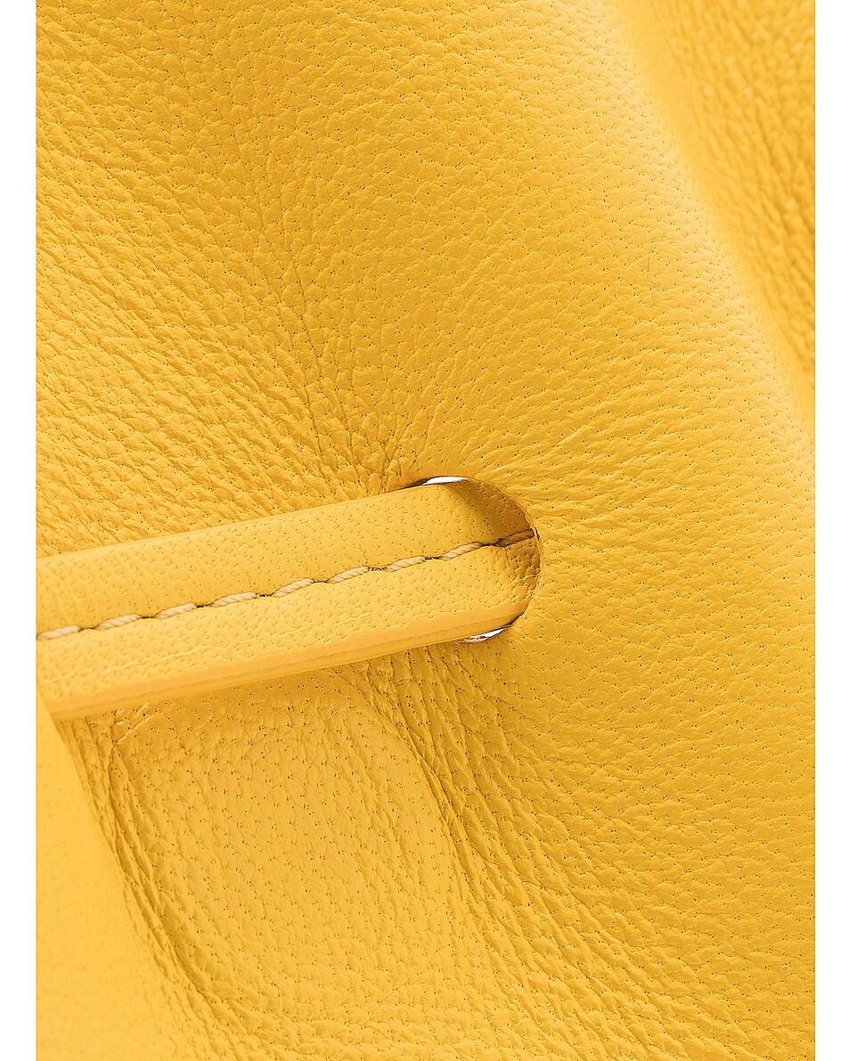 Image 8 of Mansur Gavriel Mini Protea Bag in Sun & Rosa