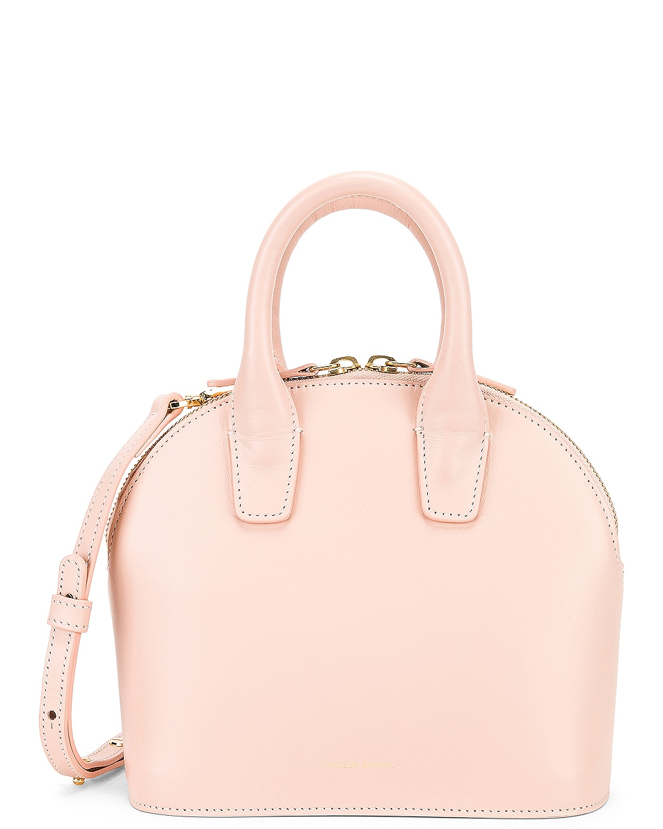 Image 1 of Mansur Gavriel Mini Top Handle Bag in Rosa