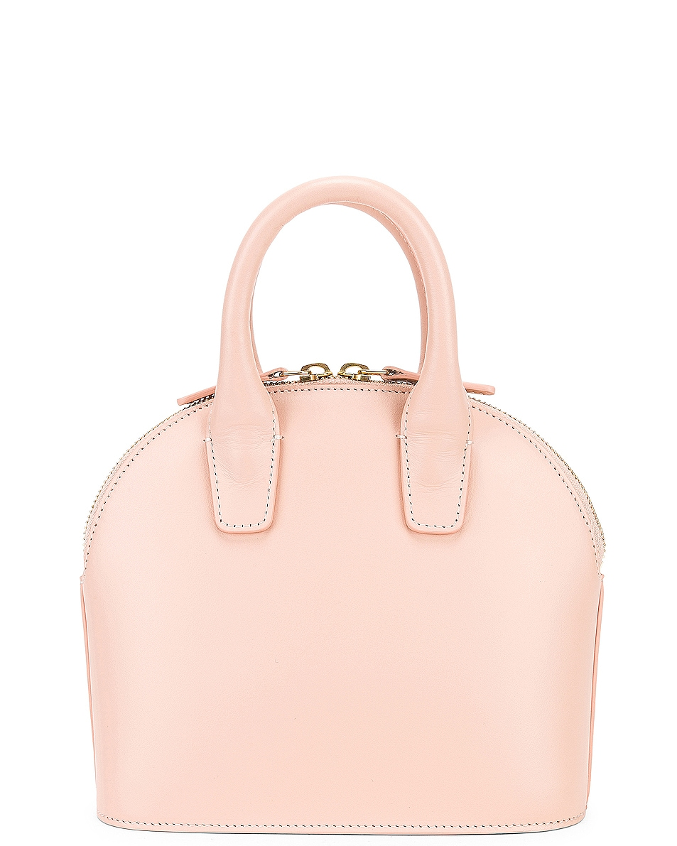 Image 3 of Mansur Gavriel Mini Top Handle Bag in Rosa