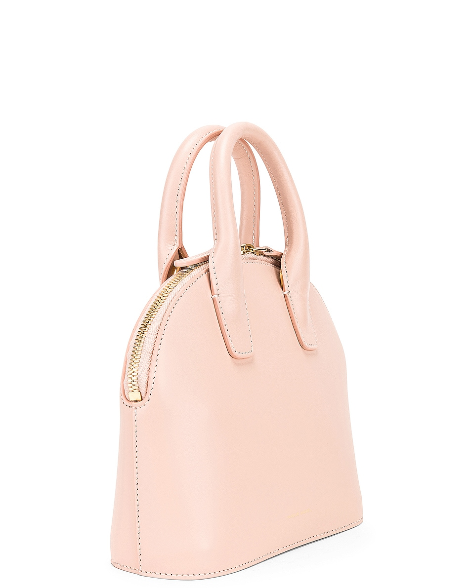 Image 4 of Mansur Gavriel Mini Top Handle Bag in Rosa