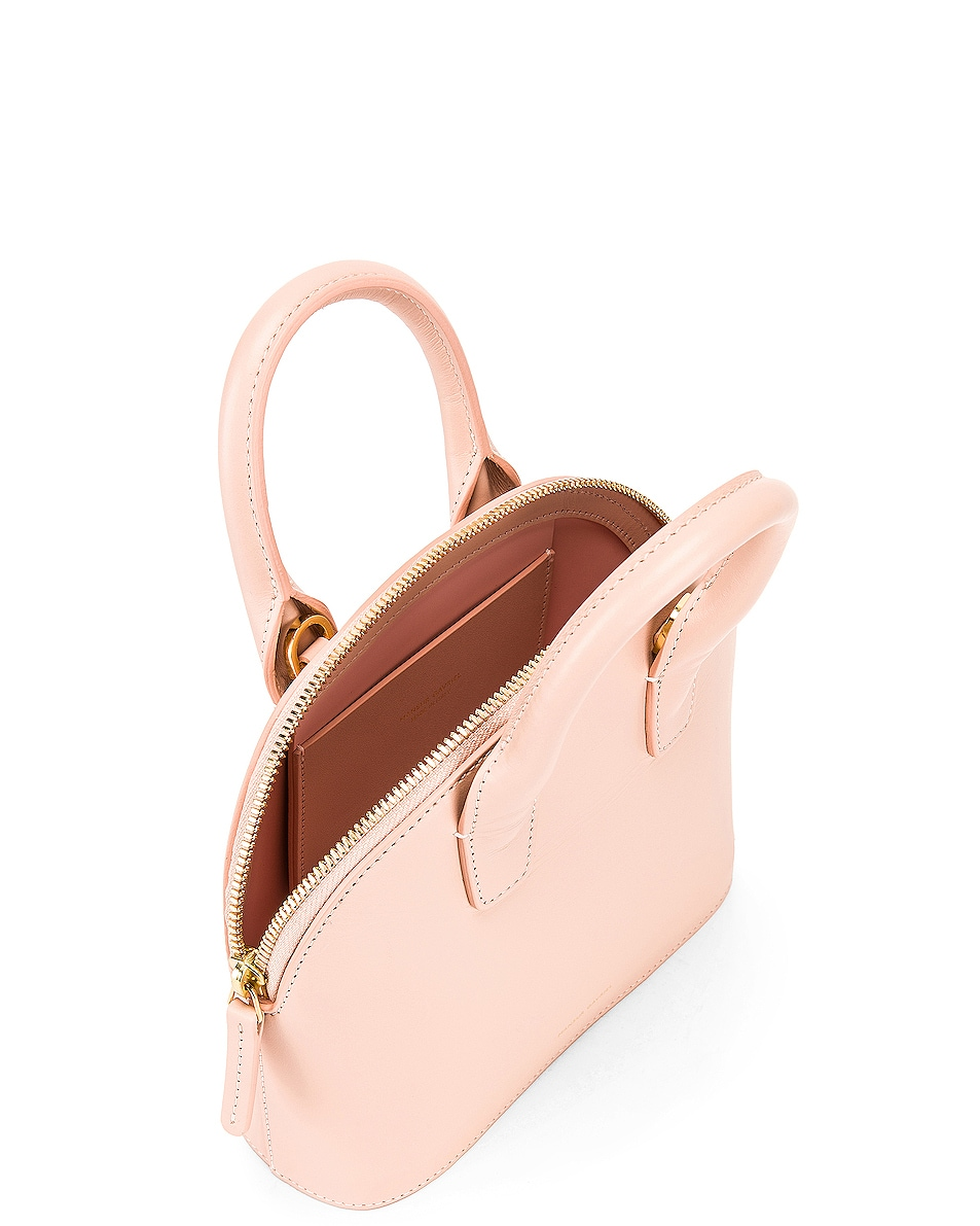 Image 5 of Mansur Gavriel Mini Top Handle Bag in Rosa
