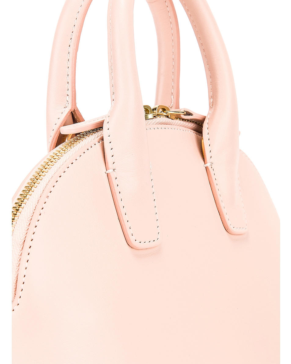 Image 8 of Mansur Gavriel Mini Top Handle Bag in Rosa