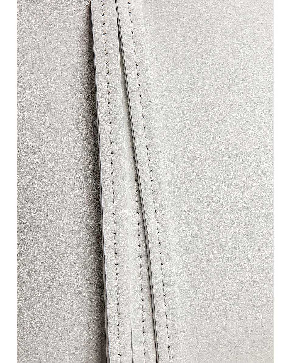 Image 7 of Mansur Gavriel Mini Fringe Bag in White