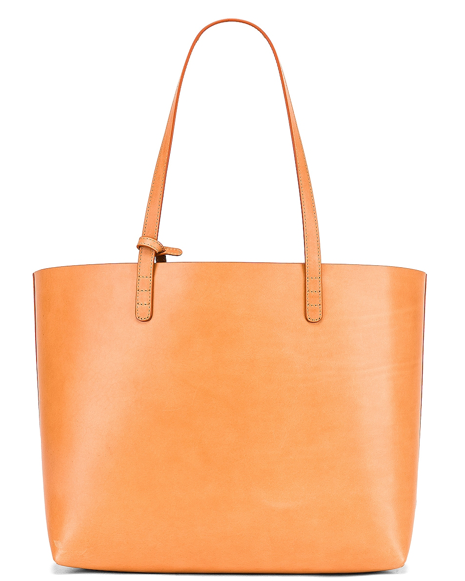 Image 3 of Mansur Gavriel Large Tote in Cammello & Cotto