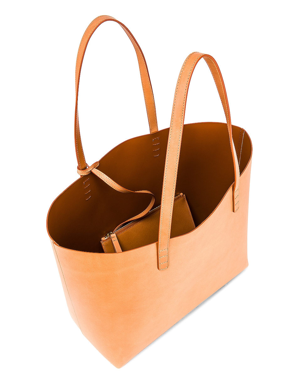 Image 5 of Mansur Gavriel Large Tote in Cammello & Cotto