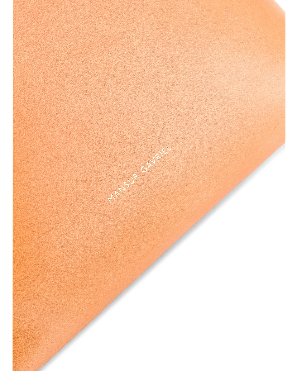 Image 7 of Mansur Gavriel Mini Bucket in Cammello & Sun