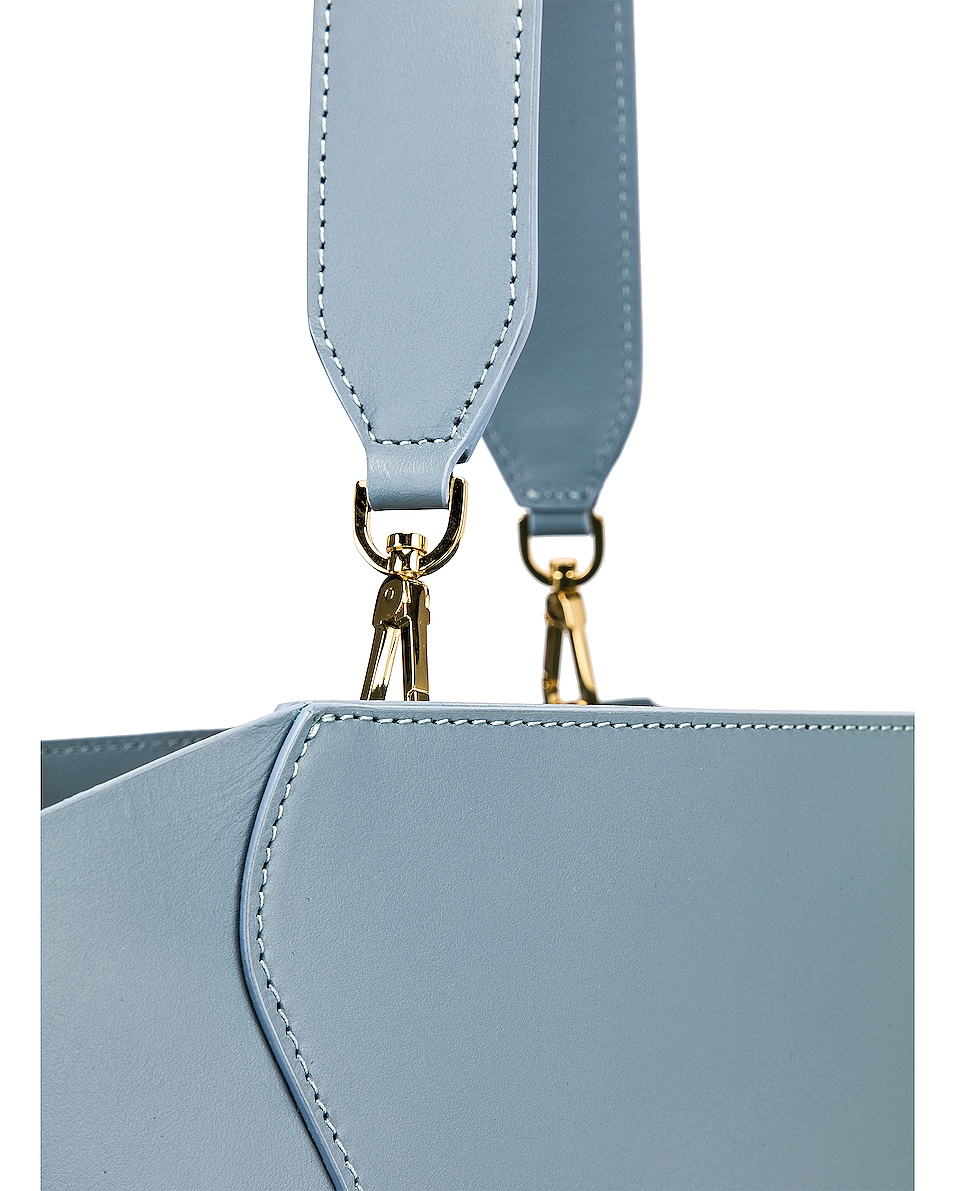 Image 8 of Mansur Gavriel Ocean Tote in Grey Blue